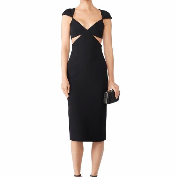 0ead69a2362 cinq a sept Dresses | Greta Cutout Midi Dress | Poshmark